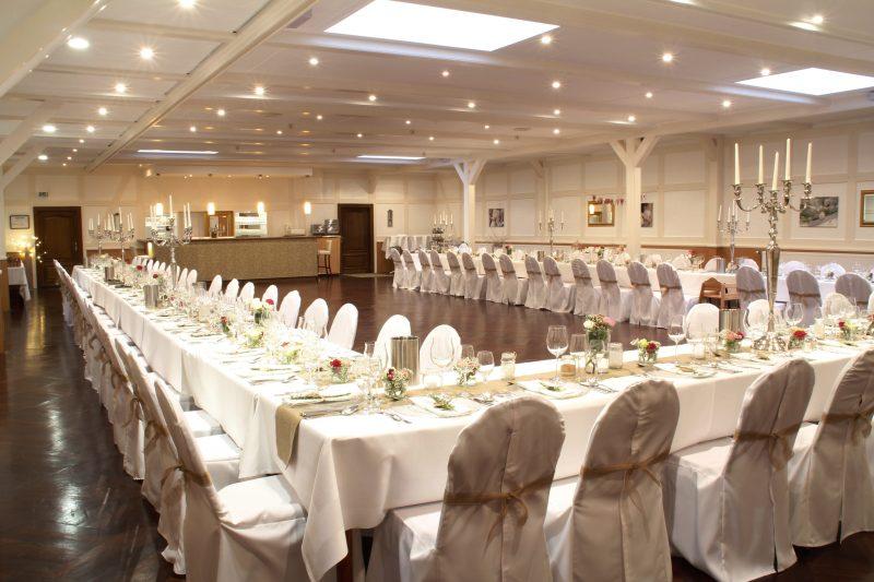 Landhotel Franck Hochzeitssaal für bis zu 130 Personen